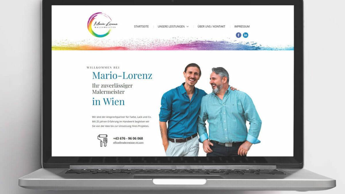 Webdesign Mario-Lorenz